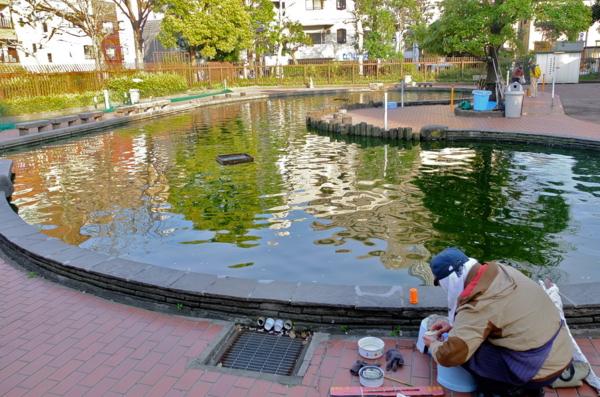隅田公園魚釣り場