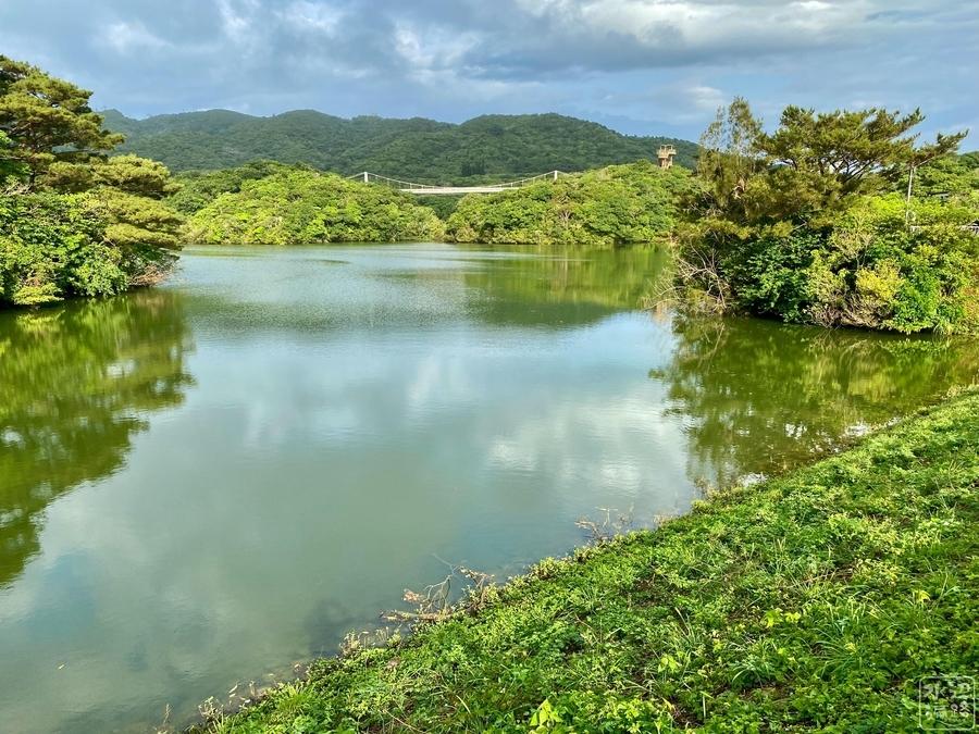 石垣ダム湖
